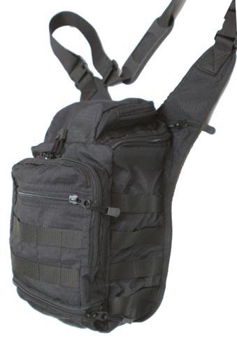 Taktická taška na plece pre skryté nosenie zbrane  55dff74b13d
