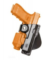 Puzdro Fobus Rotating Paddle Tactical Holster pre Glock 19 EM19 RT