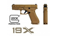 Glock 19X (Coyote), kal.: 9x19mm,Glock 19X (Coyote), kal.: 9x19mm