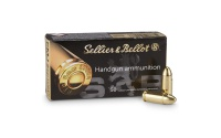 Sellier&Bellot 9mm LUGER FMJ, 7,5g/115grs,Sellier&Bellot 9mm LUGER FMJ, 7,5g/115grs
