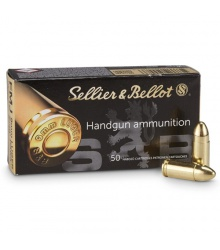 Sellier&Bellot 9mm LUGER FMJ, 7,5g/115grs