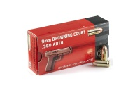 GECO 9 mm Browning Court .380 Auto,GECO 9 mm Browning Court .380 Auto