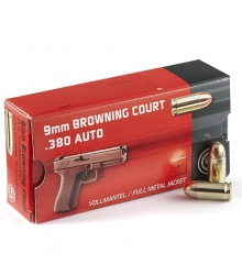 GECO 9 mm Browning Court .380 Auto