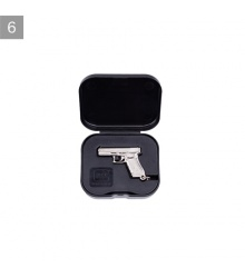 Kľúčenka GLOCK pistol Gen4 nickel plated w/box (33424)