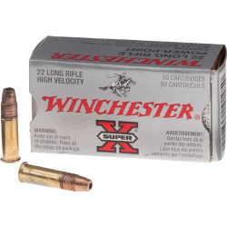 Winchester .22 Long Rifle X Super