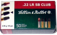 Sellier&Bellot  .22 LR SB CLUB,Sellier&Bellot  .22 LR SB CLUB
